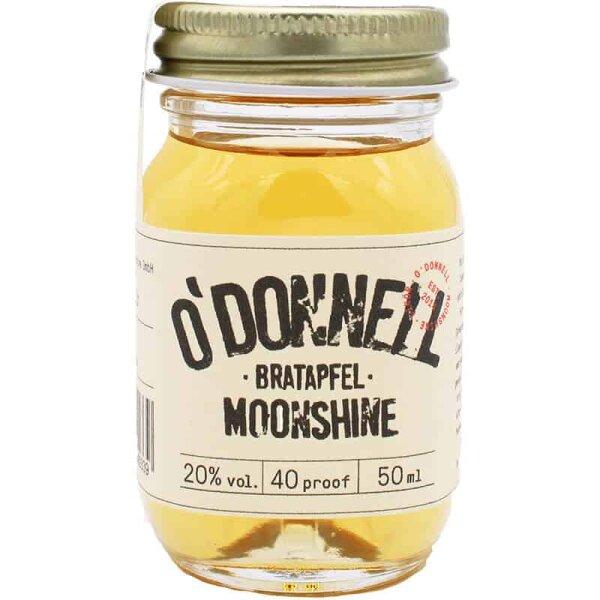 O´DONNELL - Mini Moonshine - Jar Bratapfel 50ml 20%