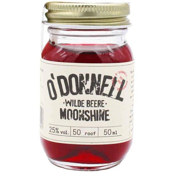 O´DONNELL - Mini Moonshine - Jar Wilde Beere 50ml 25%