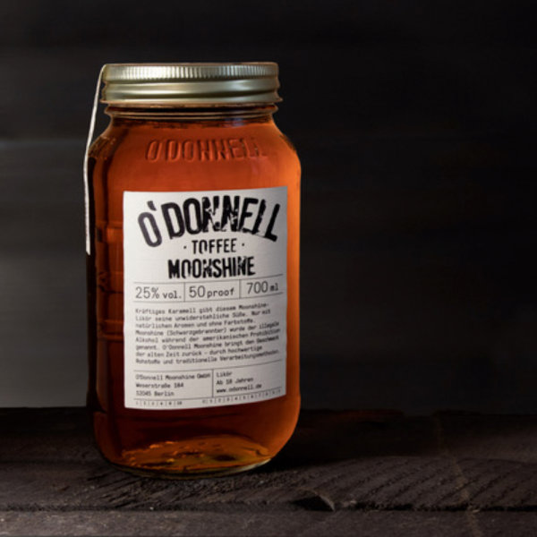 O´DONNELL - MOONSHINE Toffee 700ml 25%vol.