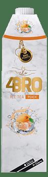 4BRO - Ice Tea Peach - 1000ml