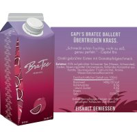 BraTee - Capital Bra Eistee Granatapfel - 750ml
