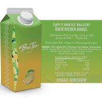 BraTee - Capital Bra Eistee Zitrone - 750ml