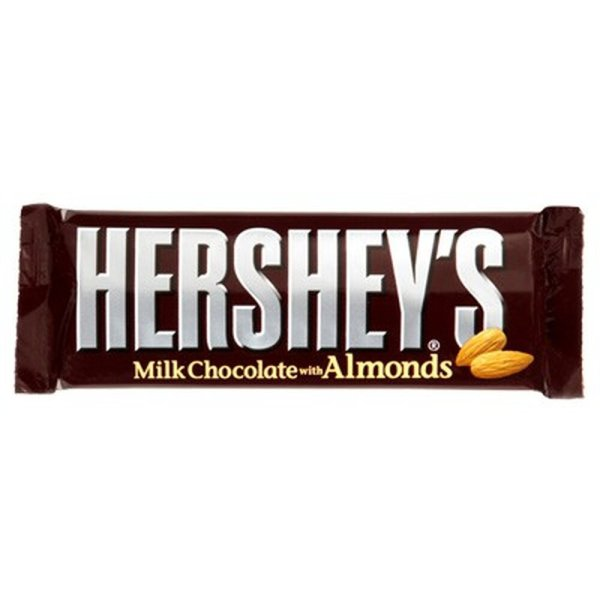 Hersheys Milk Chocolate Bar with Almond US 41g