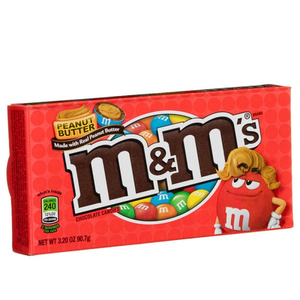 M&M´s Peanut Butter Theater Box 85g