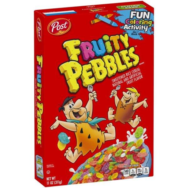 Post Fruity Pebbles Cerealien 311g