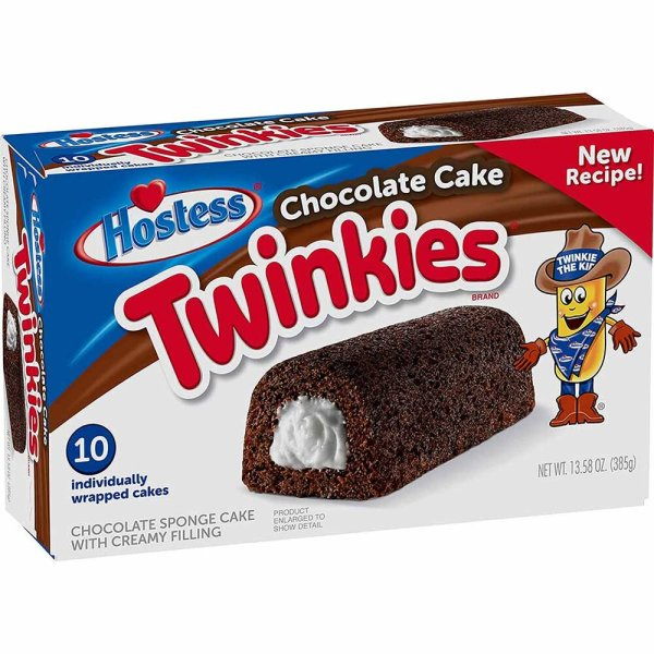 Hostess Twinkies Chocolate 10er Pack 385g