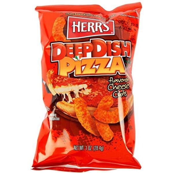 Herr´s Deep Dish Pizza Cheese Curls 199g