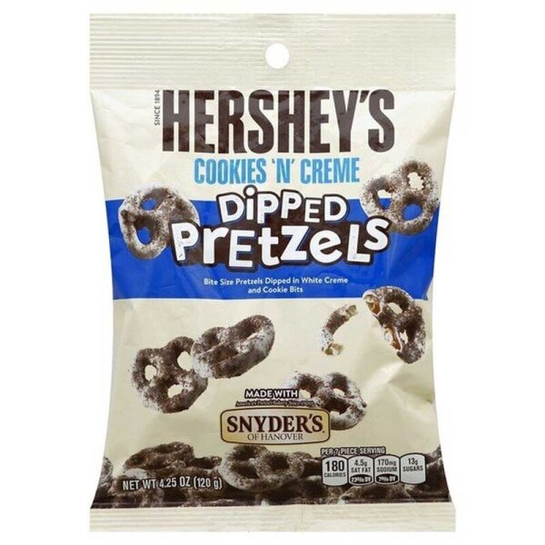 Hershey´s Cookies & Creme Dipped Pretzels 120g