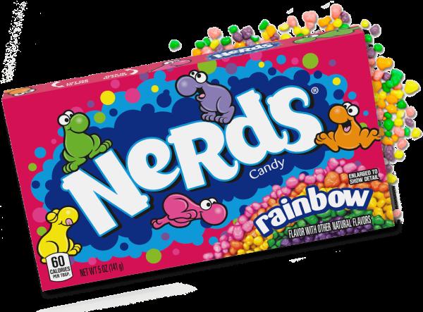 Wonka Rainbow Nerds 141g
