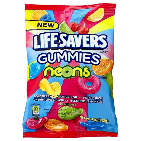 Lifesavers Gummies NEONs 198g