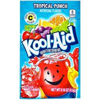 Kool Aid Unsweetened Drink Mix Tropical Punch 4,5g