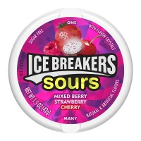 Ice Breakers Sours Mixed Berry Zuckerfrei 42g