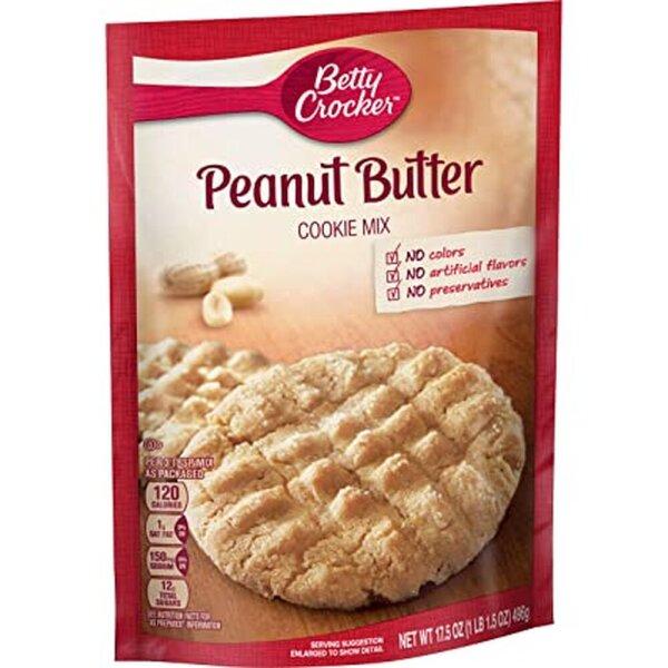 Betty Crocker Peanut Butter Cookie Mix 496g
