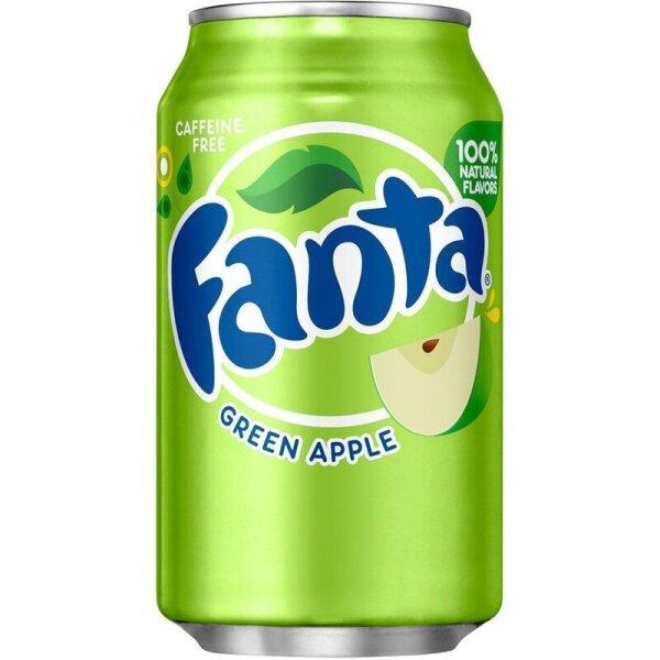 Fanta - Green Apple - 355 ml