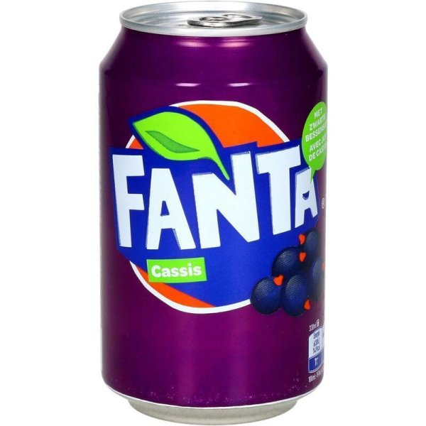 Fanta - Cassis - 330 ml