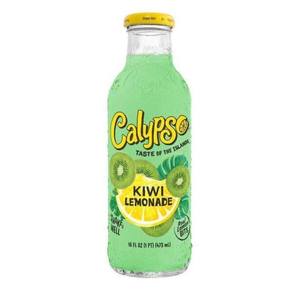 Calypso - Kiwi Lemonade - Glasflasche - 473 ml