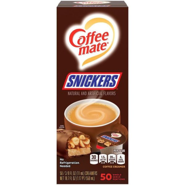 Nestle Coffee Mate - Snickers - 50 x 11 ml