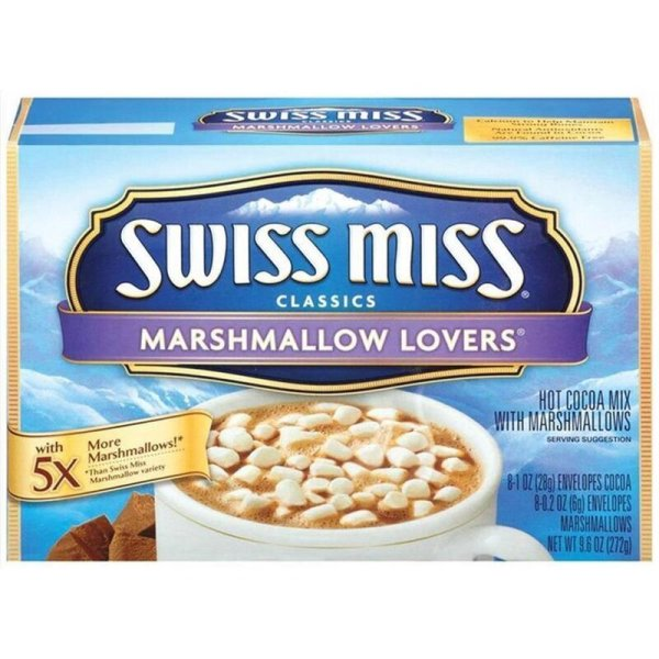 Swiss Miss Marshmallow Lovers Hot Cocoa Mix - 8 x 28 g
