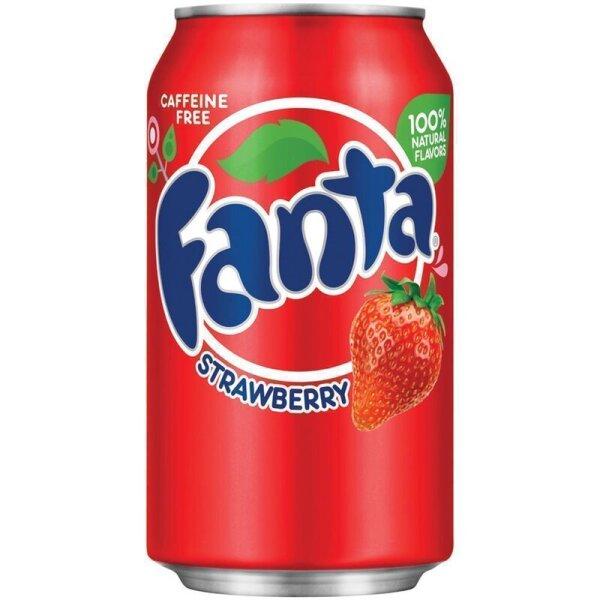 Fanta - Strawberry - 355 ml