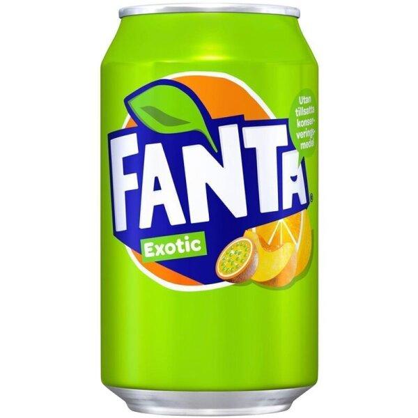Fanta - Exotic - 330 ml