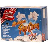 Jolly Time Microware Popcorn Natural Flavor - 300g