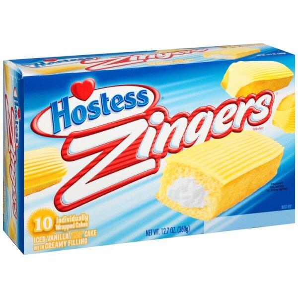 Hostess Zingers Iced Vanilla - 360g