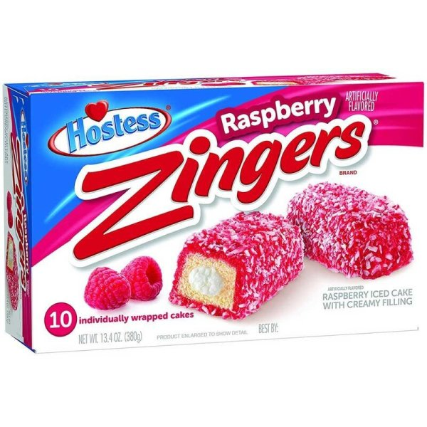 Hostess Zingers Raspberry - 380g