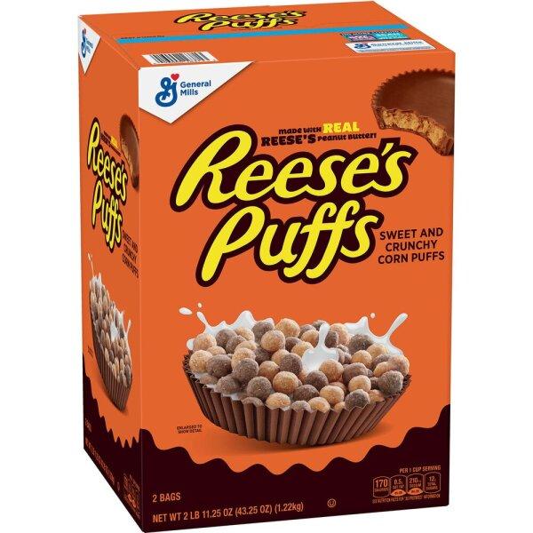 Reese´s Puffs Peanut Butter Chocolate Cerealien 1,22 kg