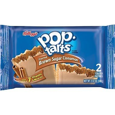 Kelloggs Pop-Tarts Frosted Brown Sugar Cinnamon Doppelpack 96g