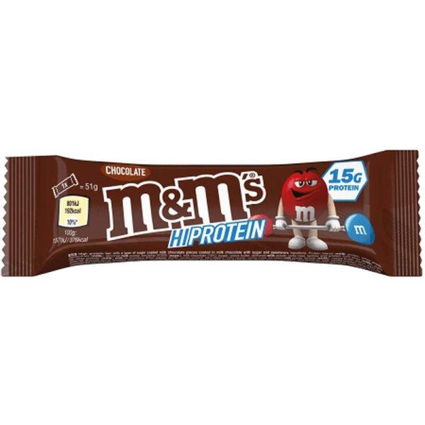 M&Ms Protein Bar Chocolate 51g