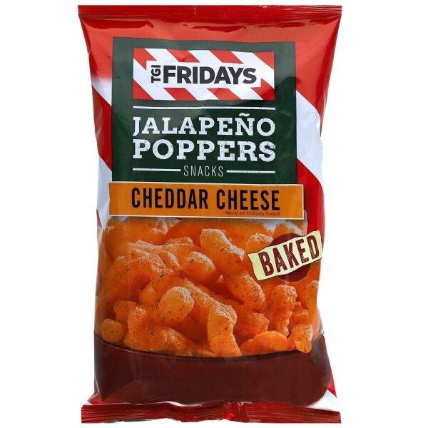 TGI Fridays Jalapeno Poppers Snacks Cheddar Cheese 99g