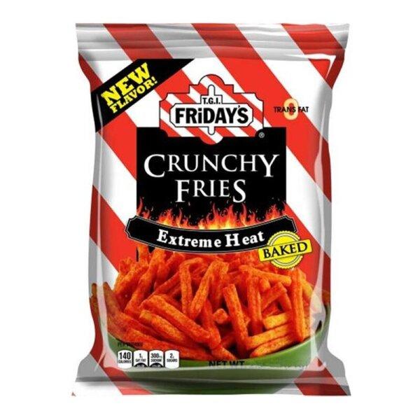 TGI Fridays Crunchy Fries Extreme Heat Flavored 127g