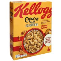 Kelloggs Crunchy Nut Peanut Butter Clusters 525g