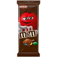 M&Ms Block Chocolate Schokolade 165g
