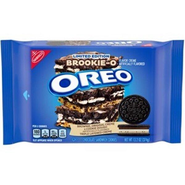 Oreo - Brookie-O Sandwich Cookie - 374g