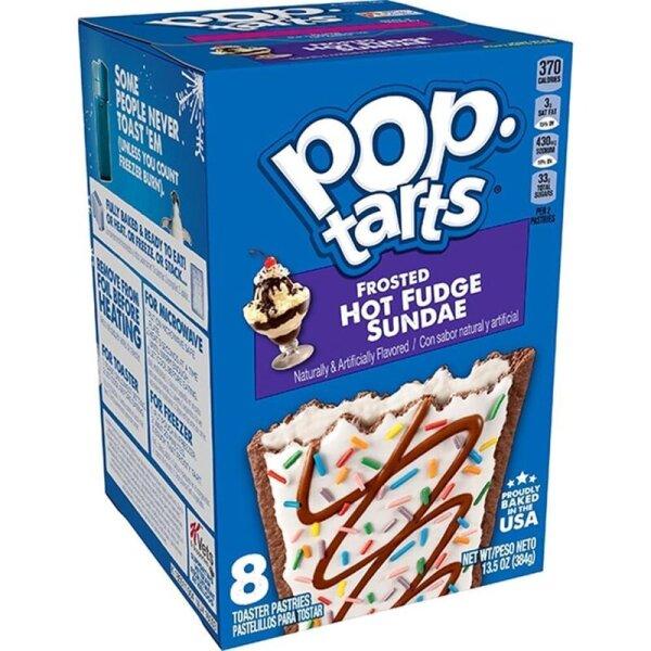 Kelloggs Pop-Tarts Frosted Hot Fudge Sundae - 8 Stück - 384g