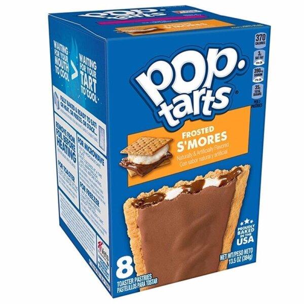 Kelloggs Pop-Tarts Frosted Smores - 8 Stück - 384g