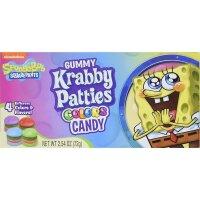 Spongebob Squarepants - Krabby Patties - Colors Candy 72g