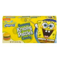 Spongebob Squarepants - Krabby Patties - Gummy Candy 72g