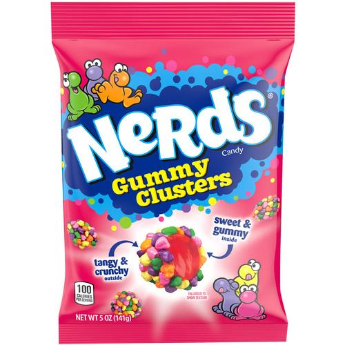 Wonka Nerds Gummy Clusters 141g