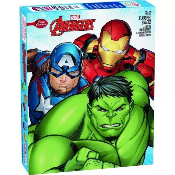 Betty Crocker Marvel Avengers Fruit Flavored Snacks 226g
