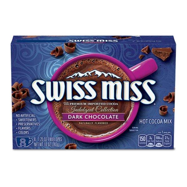 Swiss Miss Dark Chocolate 8er Pack 283g
