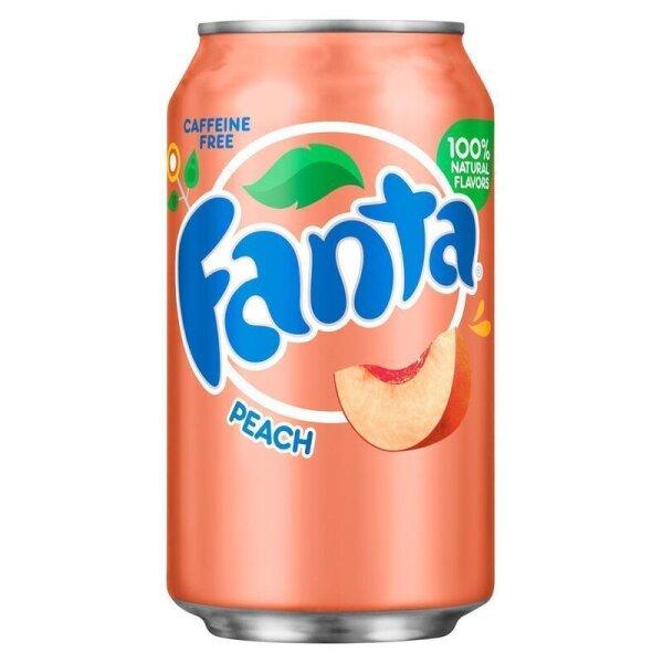 Fanta - Peach - 355 ml