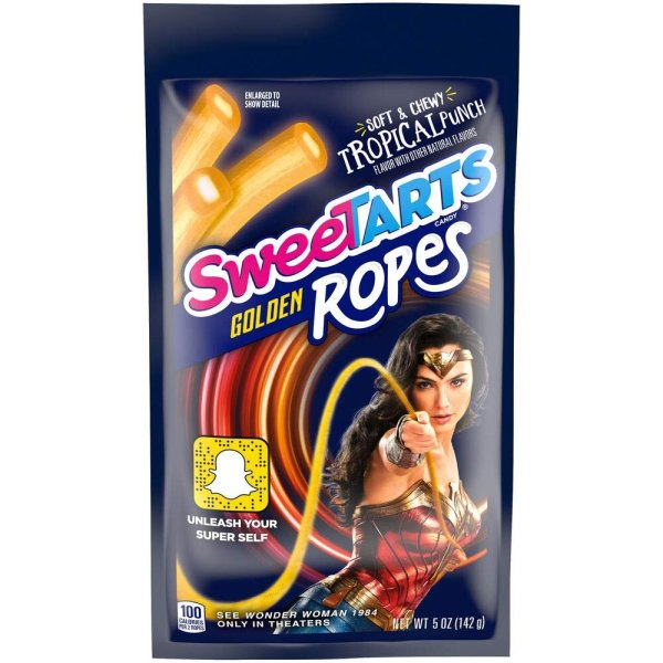 Sweetarts Golden Ropes 141g