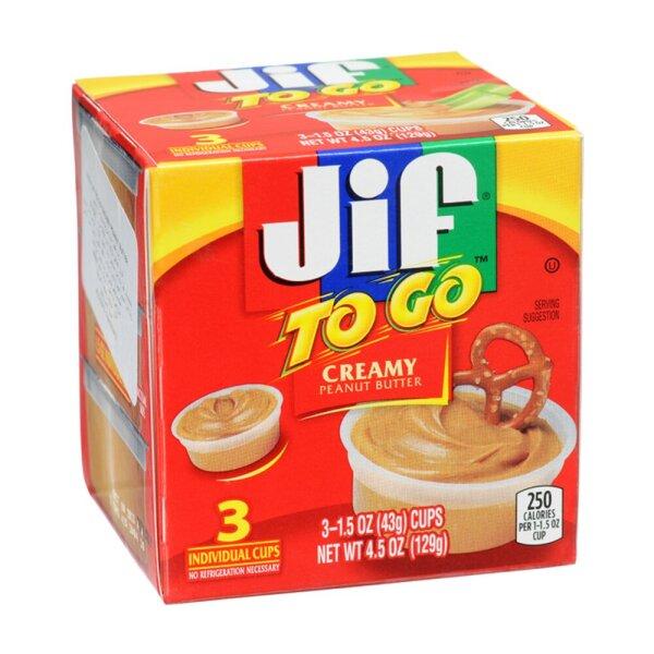 Jif To Go Creamy Peanut Butter 129g