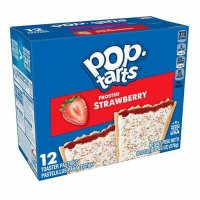 Kelloggs Pop-Tarts Frosted Strawberry - 12 Stück - 576g