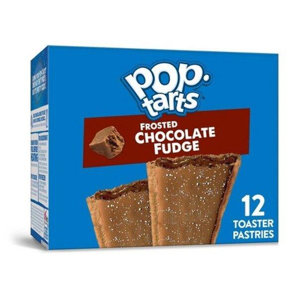 Kelloggs Pop-Tarts Frosted Chocolate Fudge - 12 Stück - 576g