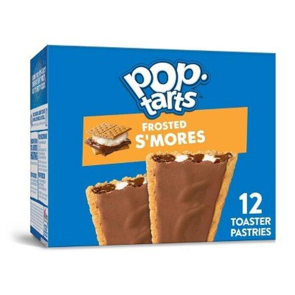 Kelloggs Pop-Tarts Frosted Smores - 12 Stück - 576g