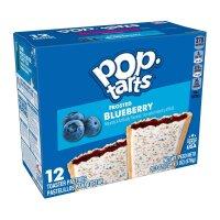Kelloggs Pop-Tarts Frosted Blueberry - 12 Stück - 576g