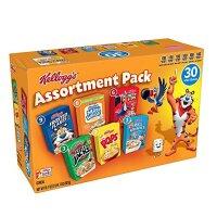 Kelloggs Jumbo Assortment Pack 927g 30 Stück